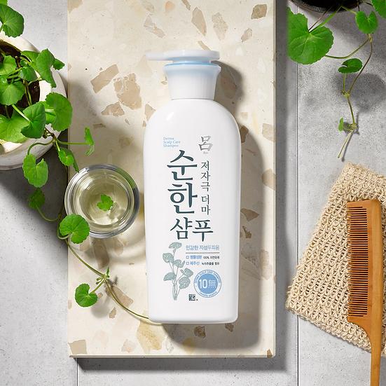 Натуральный шампунь для жирной кожи головы Mild Scalp Care Derma400мл