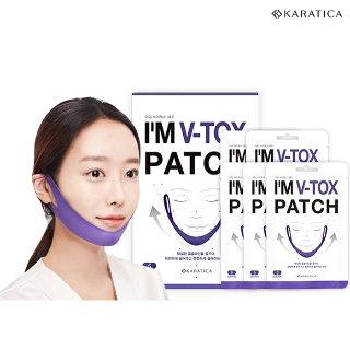 Лифтинг маска-патч для поддержания  Lifting V-tox patch