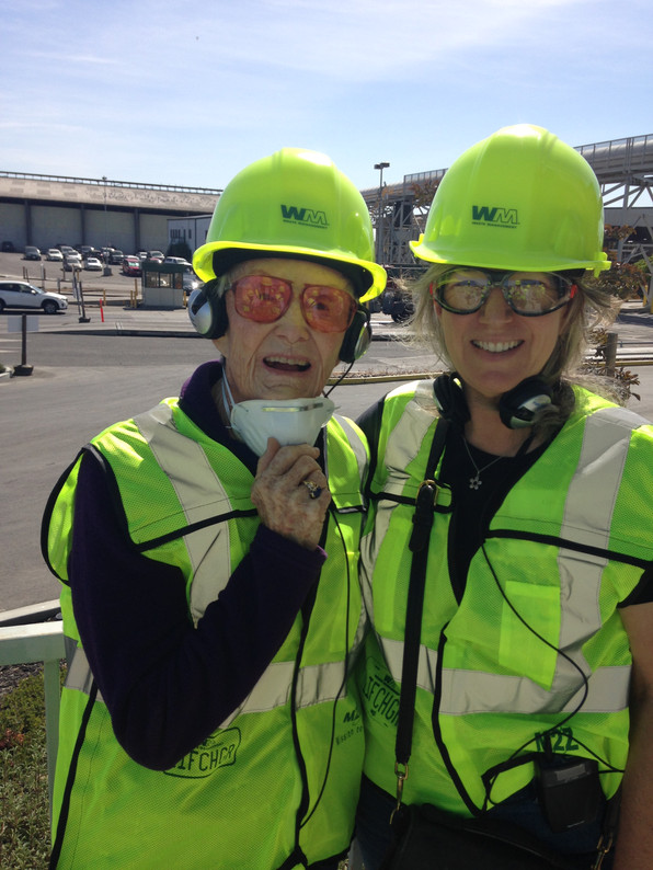Liz and Nina at CVSan Tour