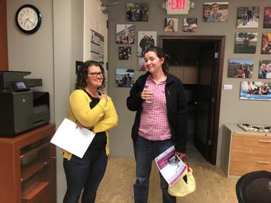 Karen & Hollie @ April meeting