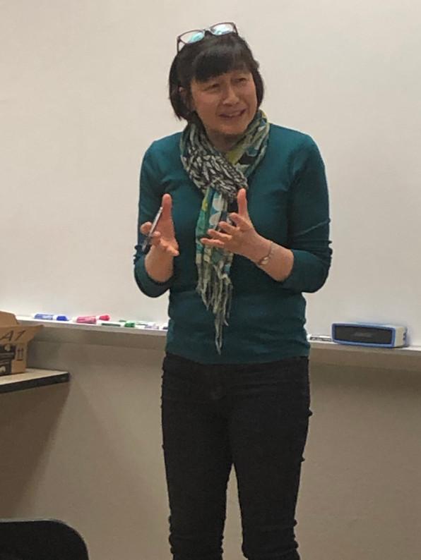 Lisa Chang MD - Speaker on 4/11/2019 Green New Deal