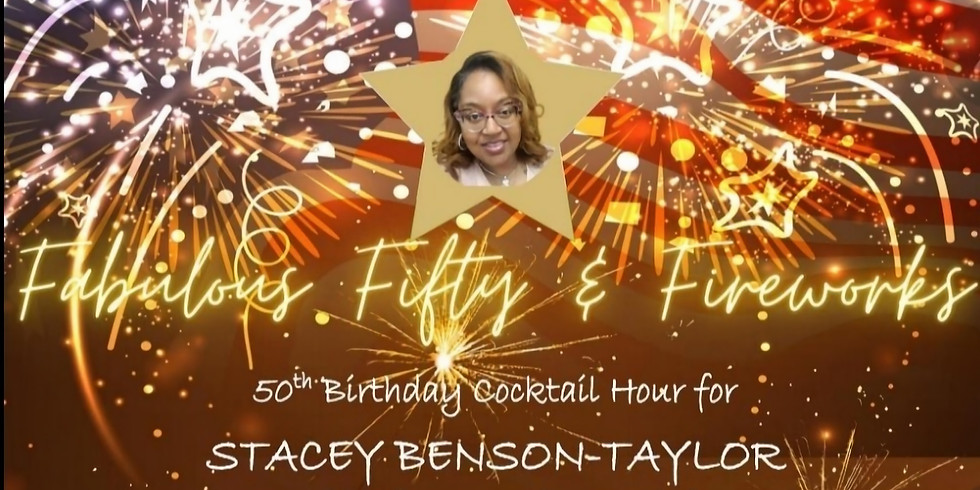 Fabulous Fifty & Fireworks Birthday Fundraiser