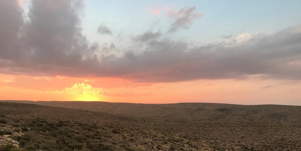 New Mexico, Sonnenuntergang, Abendlicht.