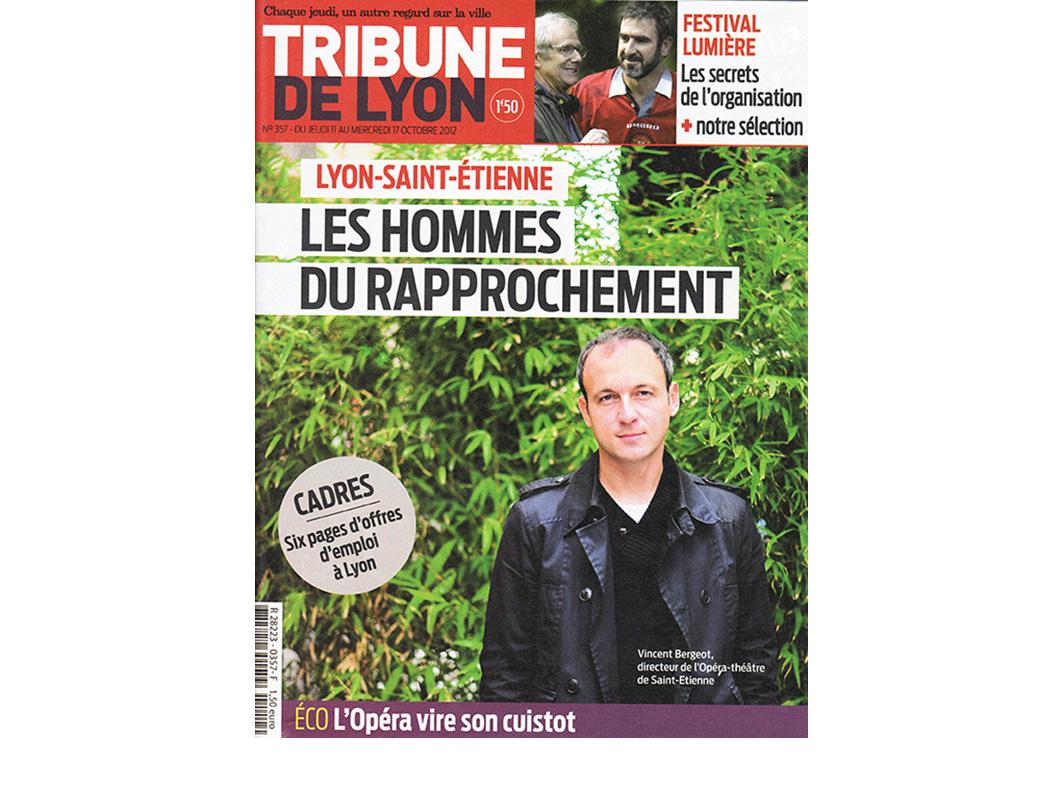 LA TRIBUNE DE LYON - 2012