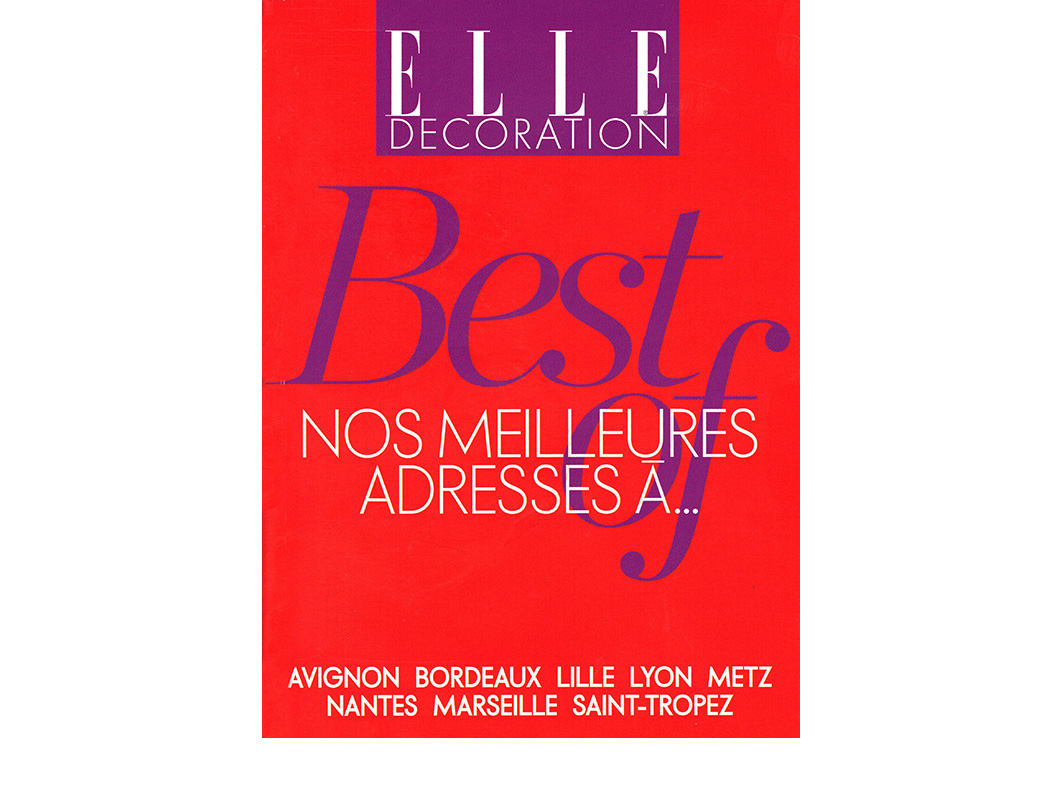 ELLE DECORATION - 2011