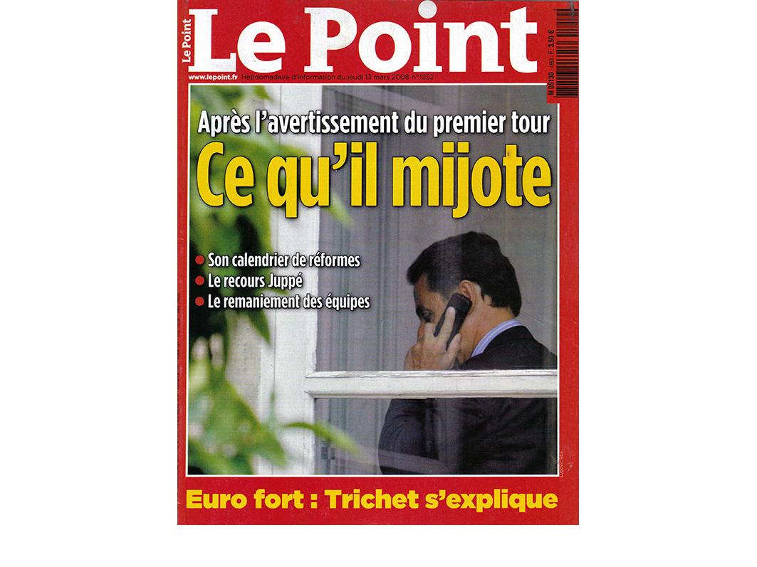 LE POINT - 2008
