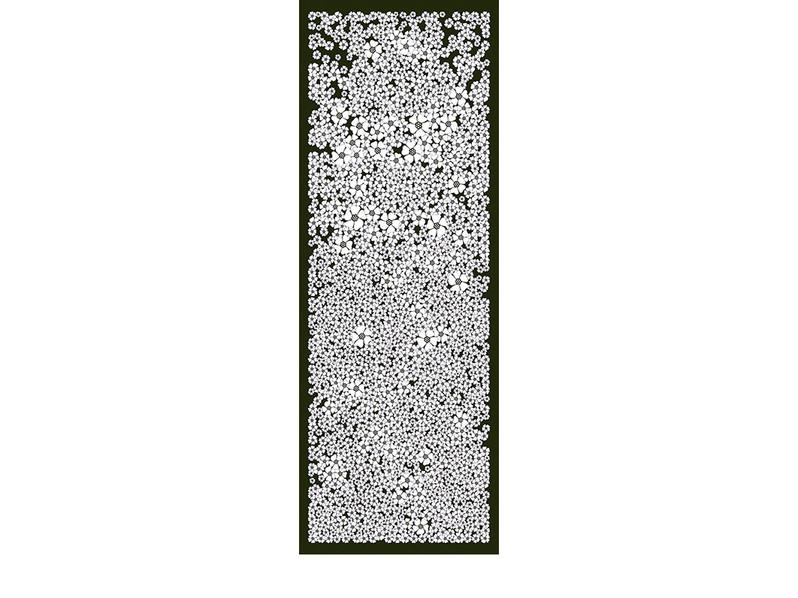 CHAMP DE FLEURS-ardoise-90x250