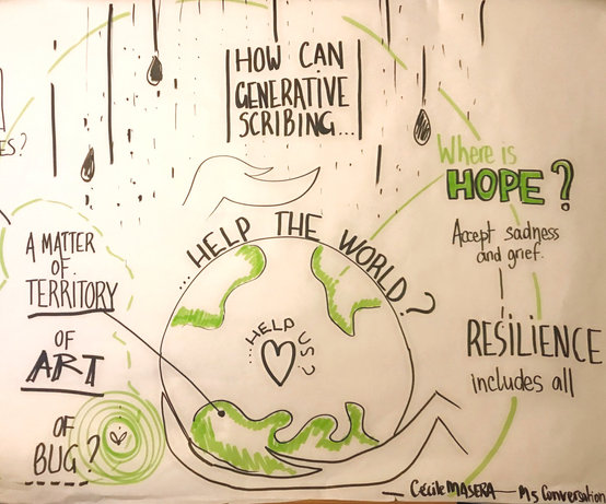 How can generative scribing help the world, help us ?   Cécile Masera