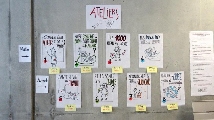 Signalétique séminaire Santé Environnement   Cécile Masera
