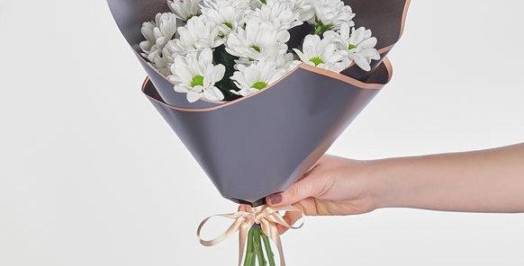 Beyaz Papatya Buket Çiçek