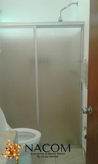 baño blanta alta