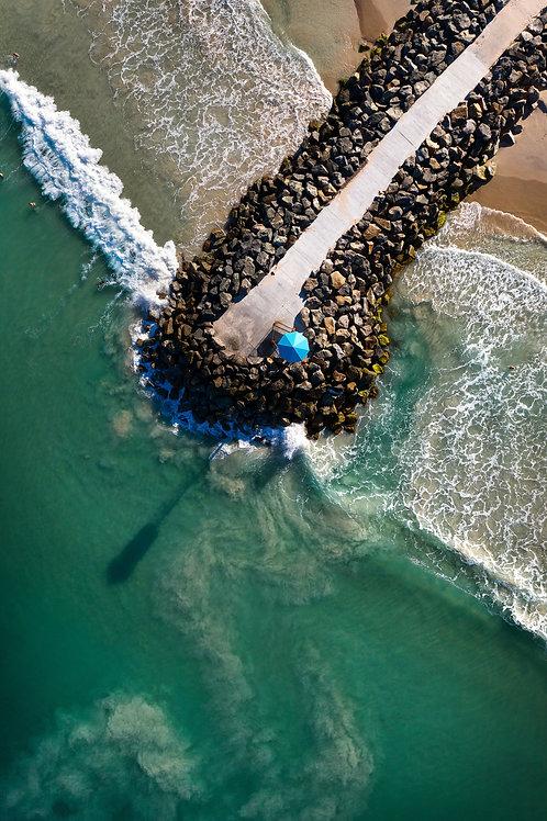 City Beach - Aerial Shark Tower
