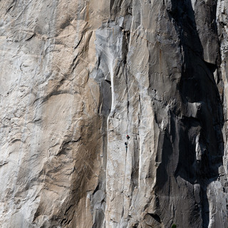 Climbers on El Capitain