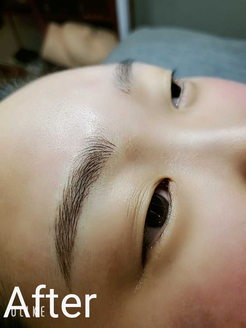 Eyebrow Client - Before