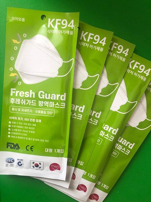 Korean KF94 Face Masks + Bonus Pack