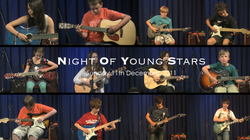 Night Of Young Stars - 11th December, 2011 | David Thirgood | Guitar Lessons