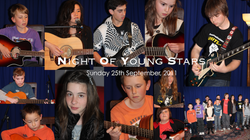 Night Of Young Stars - 25th September, 2011 | David Thirgood | Guitar Lessons