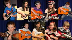 Night Of Young Stars - 17th July, 2011 | David Thirgood | Guitar Lessons