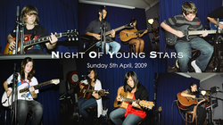 Night Of Young Stars - 5th April, 2009 | David Thirgood | Guitar Lessons