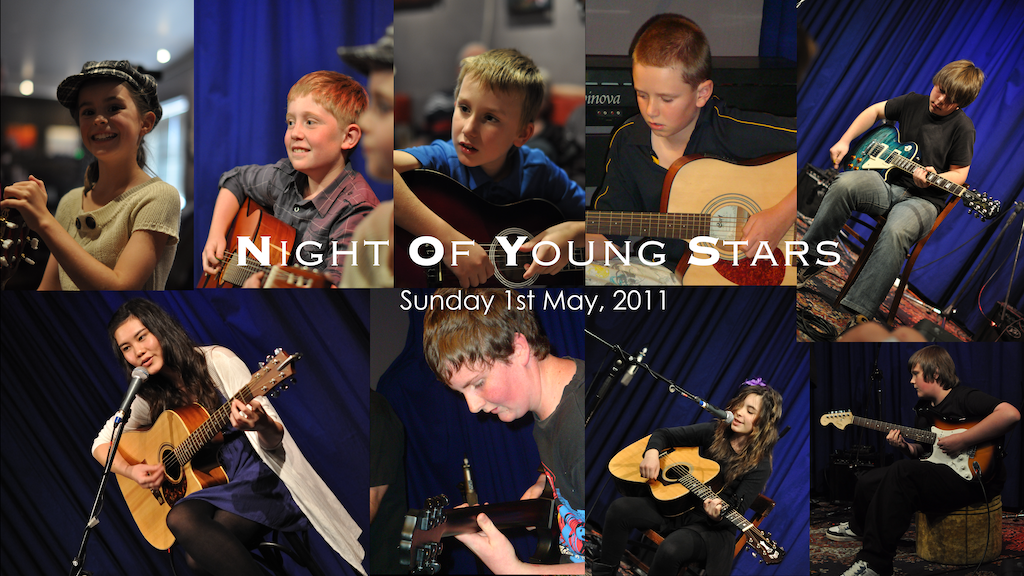 Night Of Young Stars - 1st May, 2011 | David Thirgood | Guitar Lessons