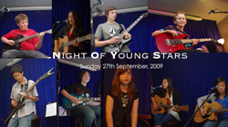 Night Of Young Stars - 27th September, 2009 | David Thirgood | Guitar Lessons