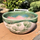 Thumbnail: Pink Porcelain Bowl with Green Ginkgo Leaves