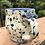 Thumbnail: Fancy Blue Rose Mug