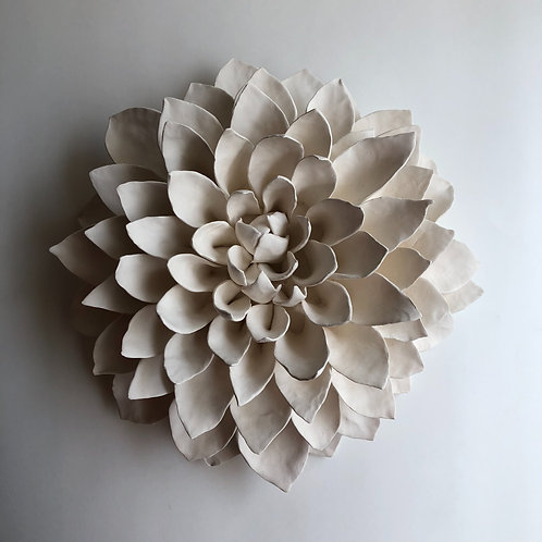 "11"" Porcelain Dahlia (3-4 weeks processing)"