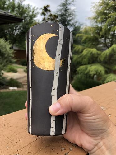 Tall Crescent Moon Aspen Cup