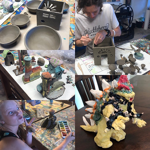 Saturday Clay Class (All Ages) - Feb 27, March 6 & 13 from 10am-11:45