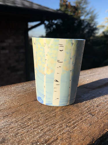 Small Yellow Aspen Cup