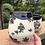 Thumbnail: 2 Black & White Flower Cups