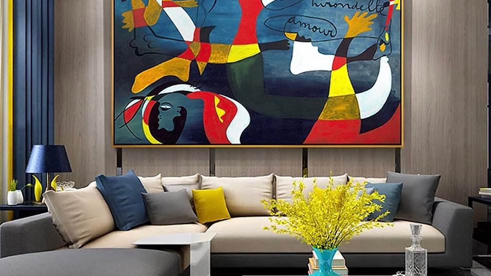 Custom Made Abstract Painting 37