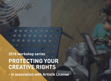 Workshop: Protecting your Creative Rights