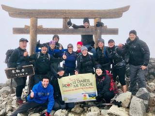Une première au Québec:  13 personnes de la région de Québec atteignent les sommets des Monts Fuji e