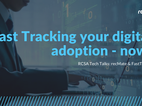 RCSA Tech Talks: recMate & FastTrack