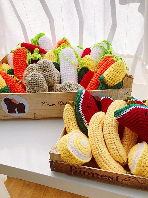 Crochet Fruit & Veggies