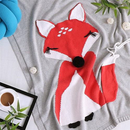 Friendly Fox Blanket
