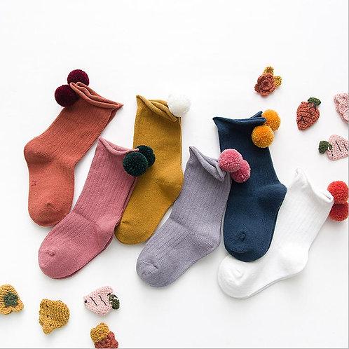 Pom Pom Socks