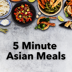 5 Minute Asian Meals