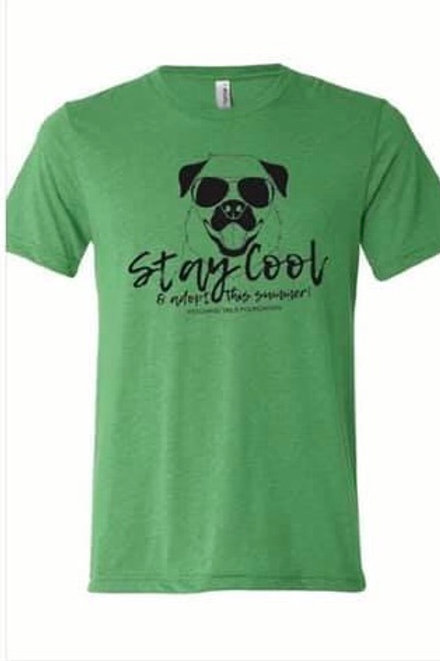 Stay Cool Green T-Shirt