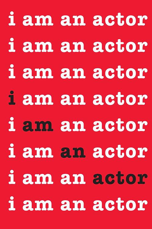 I am an actor A5 Notebook