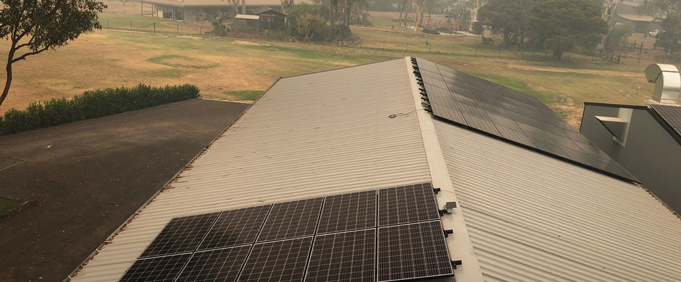Londonderry Solar Panel Installation