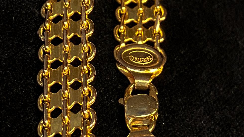 14K Vintage Gold Bracelet