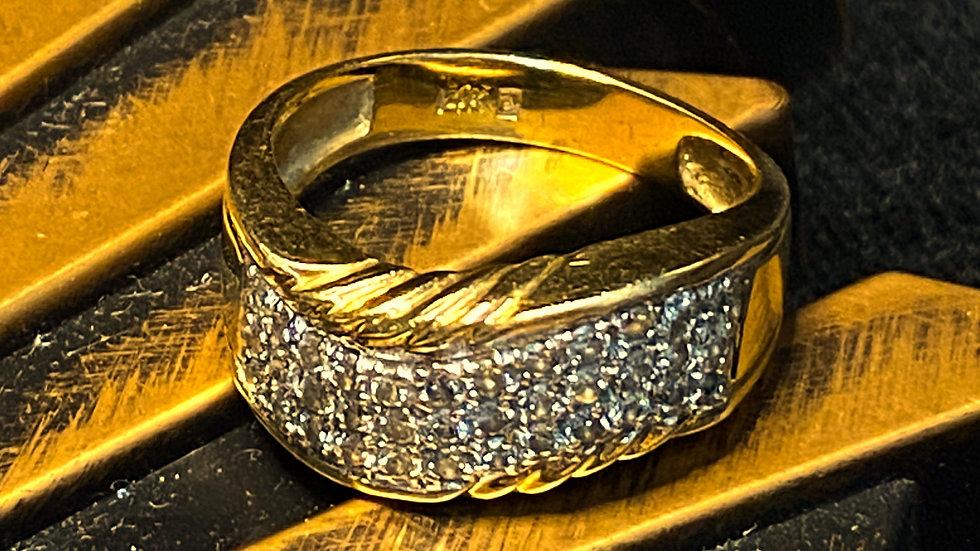 14K Diamond Gold Ring