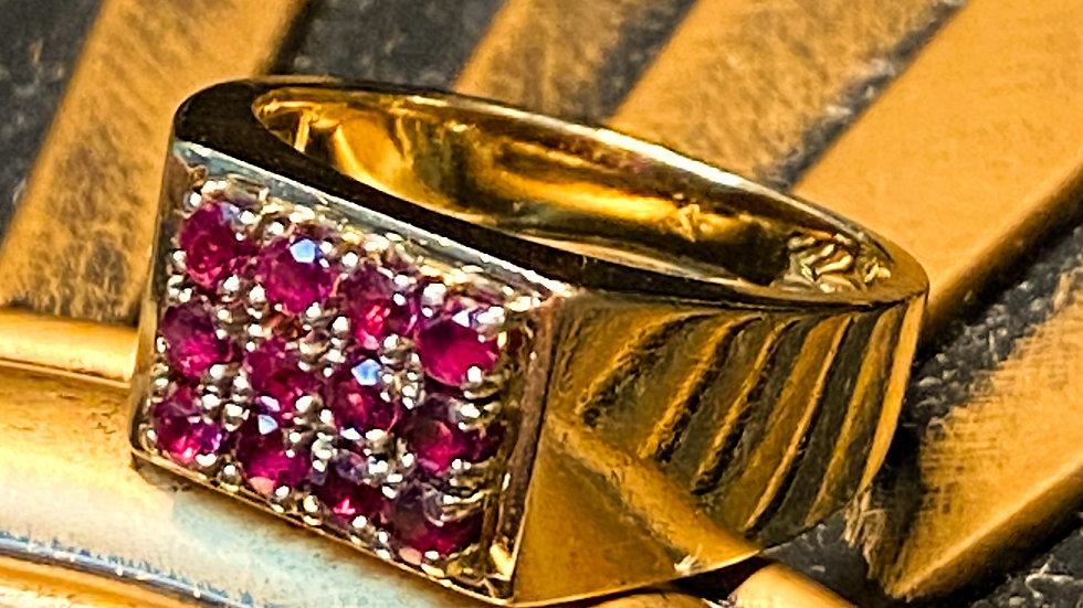 10K Ruby Ring
