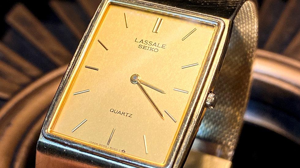 Seiko Lasalle Retro Thin Watch 9550-5052