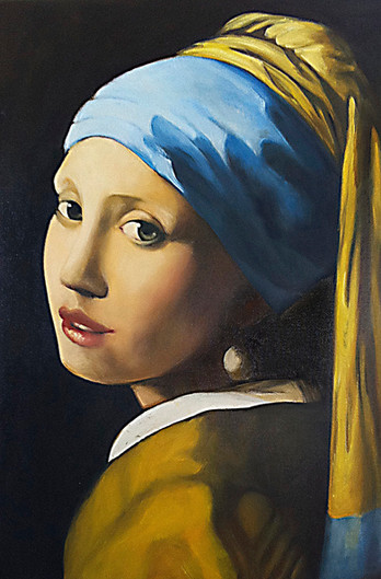 Girl With The Pearl Ear Ring