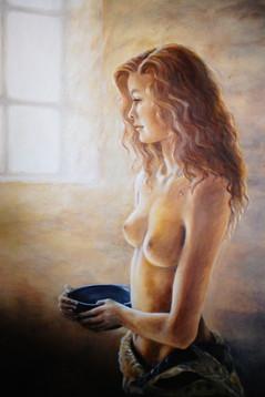 Morning light through the window