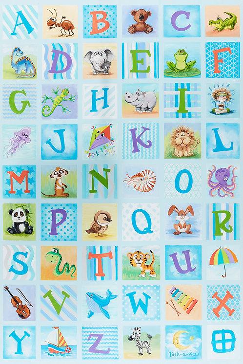 Alphabet Quilt - Billy's
